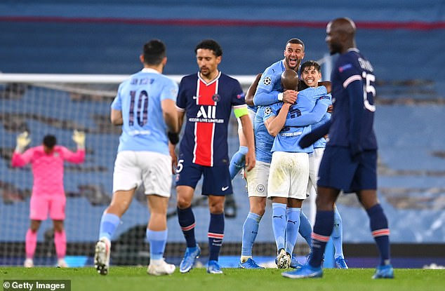 City blew away the Parisians and secured an impressive 4-1 aggregate victory in the semi-final