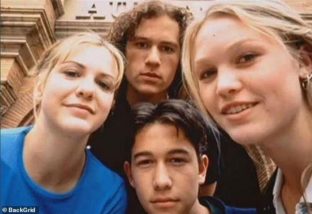 """Memories: """"I will never forget this summer, making this film with such wonderful people.  The best of times.  I still can't believe it was over 20 years ago, '' Gordon-Levitt said in March"""