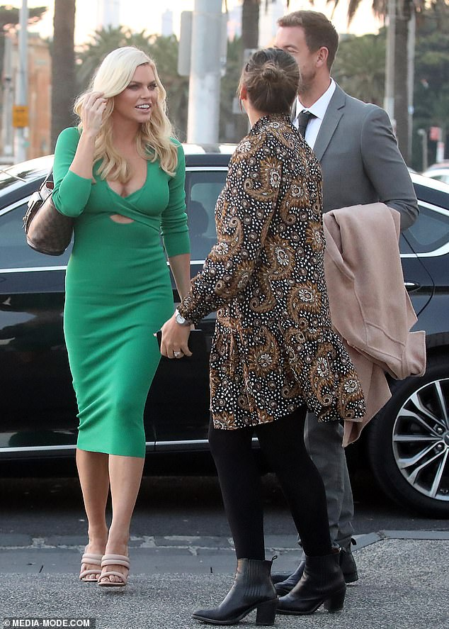Are you THE Sophie Monk?At one stage, the smitten pair were approached by a fan who looked thrilled to be in the presence of reality TV royalty