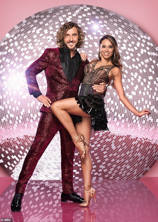 Breakup: Katya and Neil announced their split in September 2019 - ten months after being pictured kissing her former dance partner Seann Walsh (pictured above)