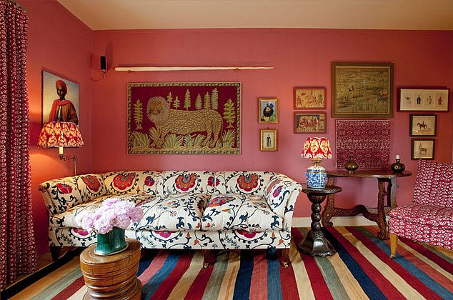 Case first learned of Johnson's plans after reading an article on February 27 which revealed the prime minister's alleged plans of a refurbishment inspired by the designer Lulu Lytle (her designs pictured)