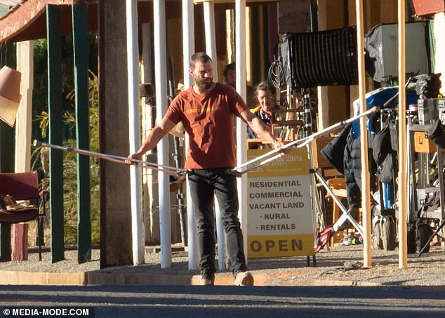 Down Under! Jamie has has been filming in Australia for the past few weeks