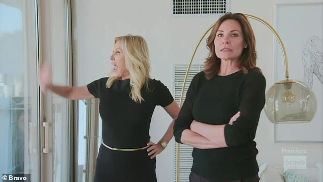 Not drinking:'I'm not drinking right now,' Luann told Ramona Singer. 'I literally think that at this point, I'm allergic to alcohol. This summer, I had a couple of times where I didn't remember how I got home. It was dangerous'