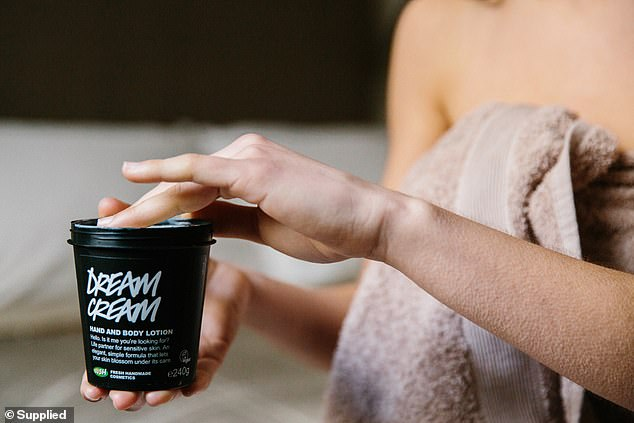 From May 11 shoppers in Australia and New Zealand will be able to return empty plastic Lush pots and containers to be recycled