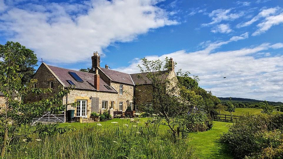 Accommodation at Hunting Hall in Northumberland, which is home to an amazing array of animals
