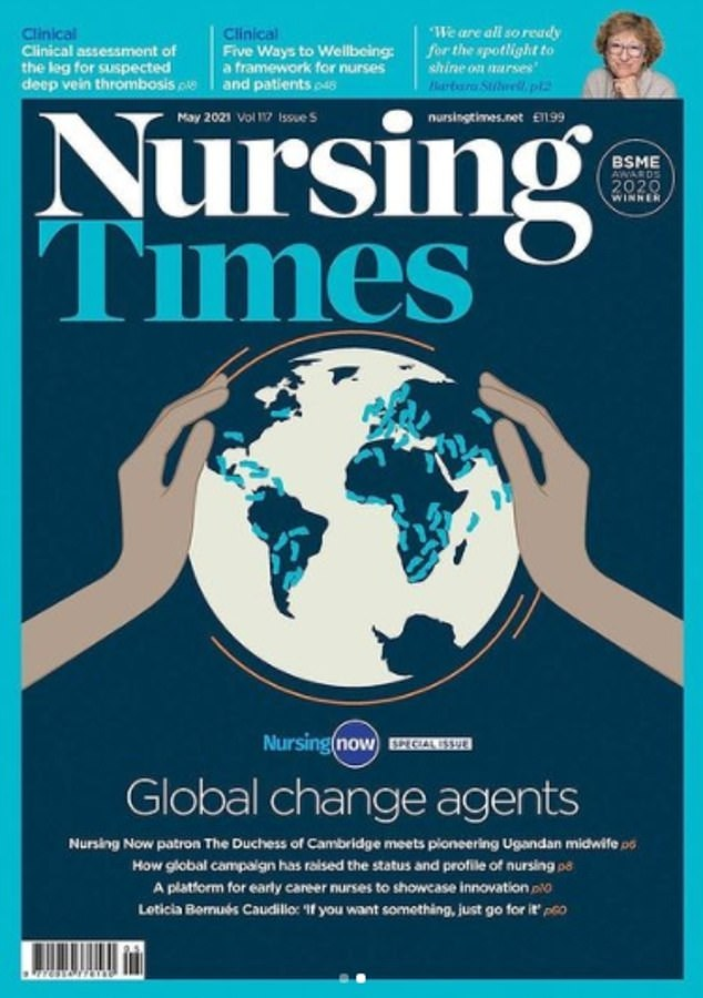 The interview is published today to coincide with the International Day of the Midwife
