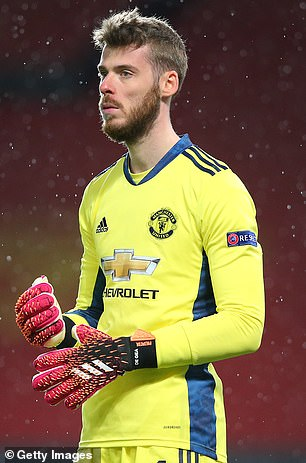 David de Gea could leave the club at the end of the season