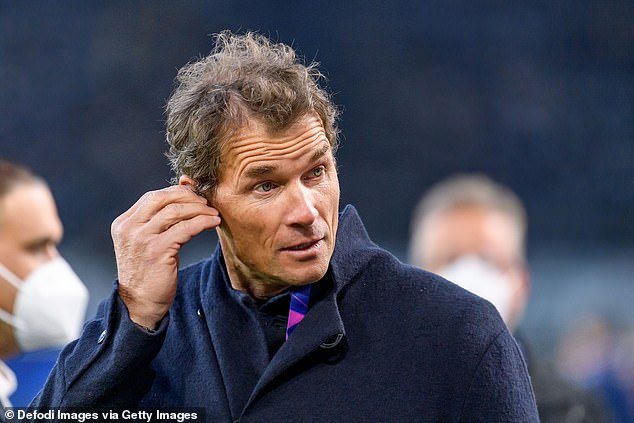 Footballer-turned-TV pundit Lehmann has since been sacked from Hertha Berlin's board