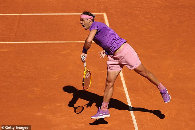 The world No.2 simply had too much quality for the youngster as he cruised to a 6-1, 6-2 win