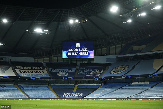 Manchester City are looking into screening the Champions League final at the Etihad Stadium
