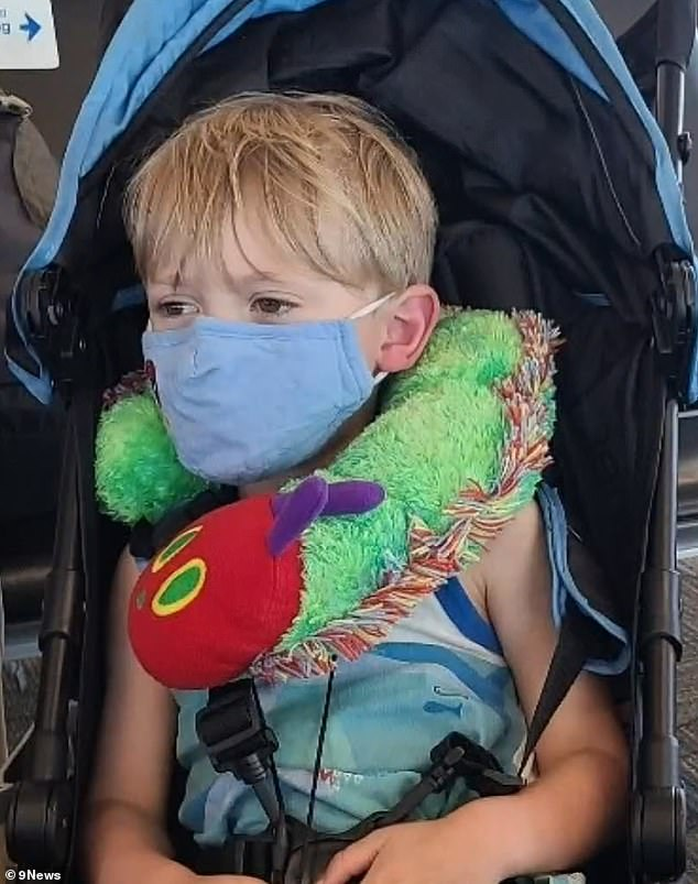Southwest Airlines kicked Orion Scott, 3, who has a sensory processing disorder, and his family off a plane on Friday because Orion might take his mask off