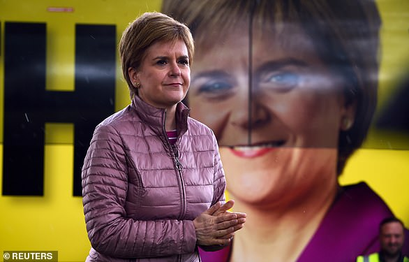 Nicola Sturgeon has denied she will hold a 'wildcat' referendum if the SNP wins a majority in today's Holyrood elections