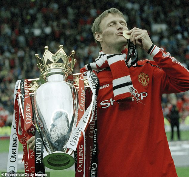Sheringham (above) quit Spurs for United back in 1997 in order to win more career trophies