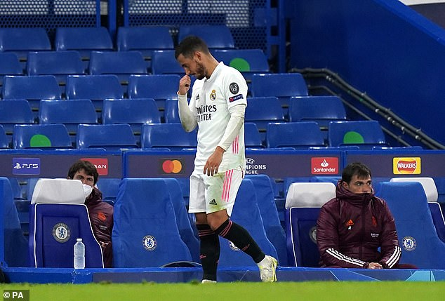 Eden Hazard has been roundly criticised by the Spanish media for his part in the defeat