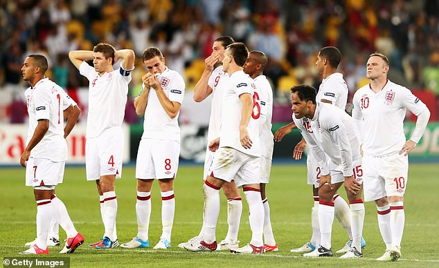 England failed to score any of their remaining penalties as they were eliminated in Kiev