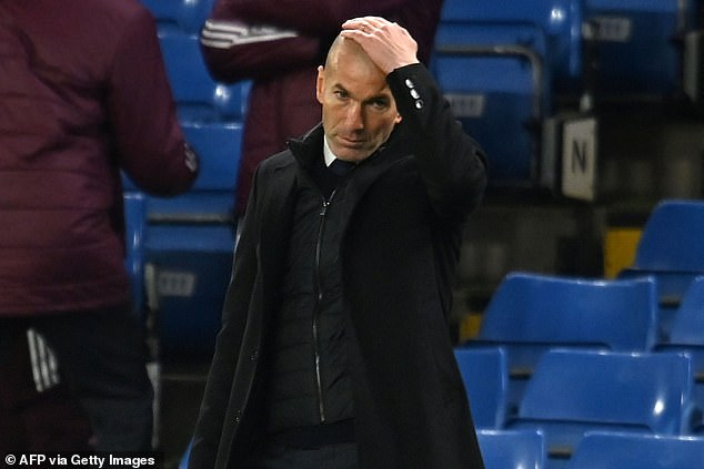 Zinedine Zidane has been lumped with much of the blame for his team selection at Chelsea
