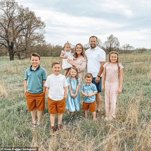 Putting him first: Anna has 'has pretty much moved in' to the home of the third party custodians where Josh is on house arrest, even though their children are not allowed to stay with him