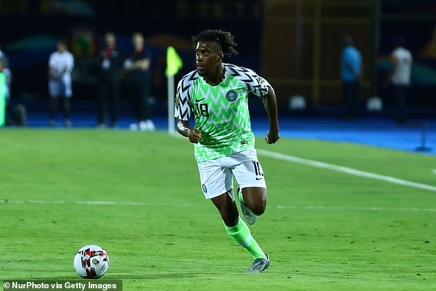 Iwobi has featured 45 times for Nigeria but is eager to keep racking up the caps for his country