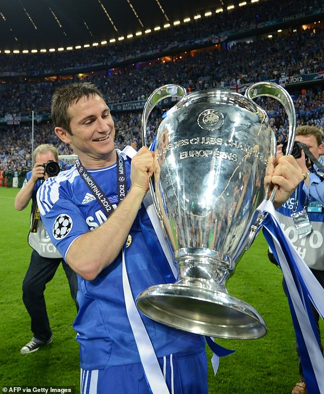 Mount says the moment John Terry and Frank Lampard lifted the trophy started his dream