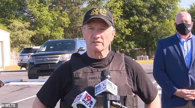Leon Lott, sheriff of Richland County, praised the bus driver for keeping his cool