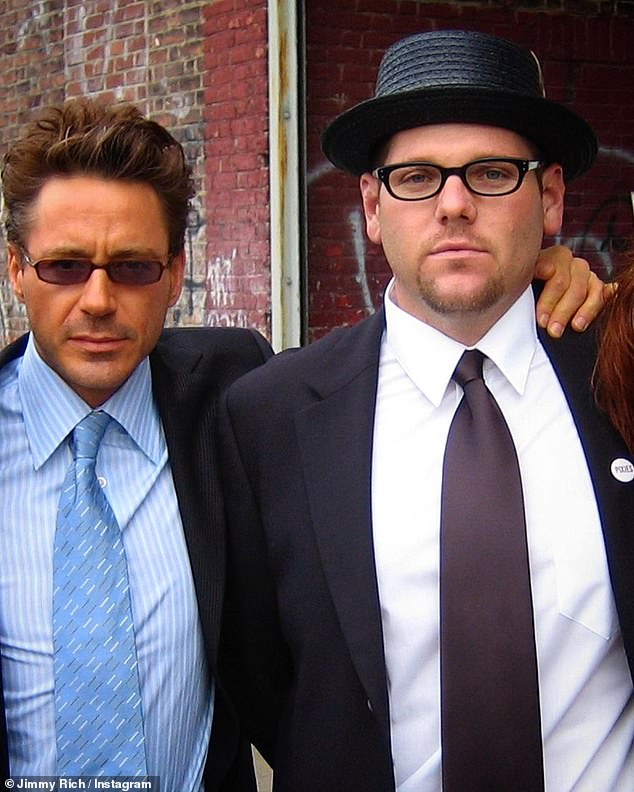 Working relationship:According to his IMDB page, Rich first served as Downey Jr.'s assistant in 2003 flick The Singing Detective as they worked together on over 20 films including every Marvel film Downey Jr. portrayed Tony Stark from 2008's Iron Man to 2019's Avengers: Endgame