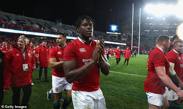 Jones believes lock partner Maro Itoje will be a leadership force on the South Africa tour