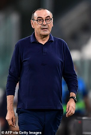 Maurizio Sarri is waiting in the wings for his next job after missing out on the Roma role