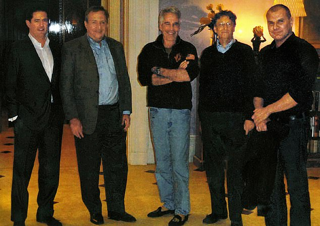 Melinda Gates warned her husband against any further contact with Jeffrey Epstein after the couple had an uncomfortable meeting with the convicted sex offender, according to a new report . Bill Gates is pictured at Epstein's Manhattan mansion in 2011, from left: James E. Staley, at the time a senior JPMorgan executive; former Treasury Secretary Lawrence Summers; Epstein; Gates and Boris Nikolic, the then-Bill and Melinda Gates Foundation's science adviser