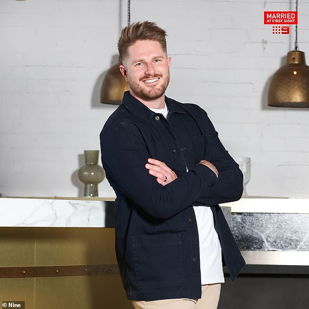 Coming clean: Married At First Sight villain Bryce Ruthven has admitted that he used the dating show for a platform to help his career