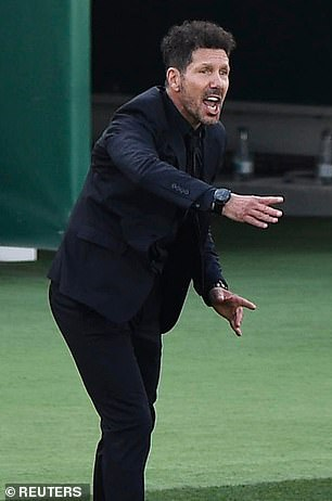 Diego Simeone has guided Atletico to the top of LaLiga and they are on course to win the title
