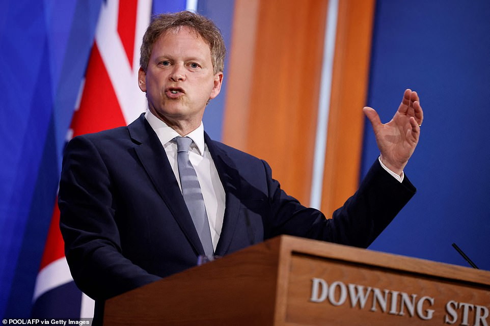 Grant Shapps unveiled his long-awaited 'green list' at a Downing Street briefing tonight, insisting we must make 'absolutely sure' that the countries we reconnect with are 'safe'