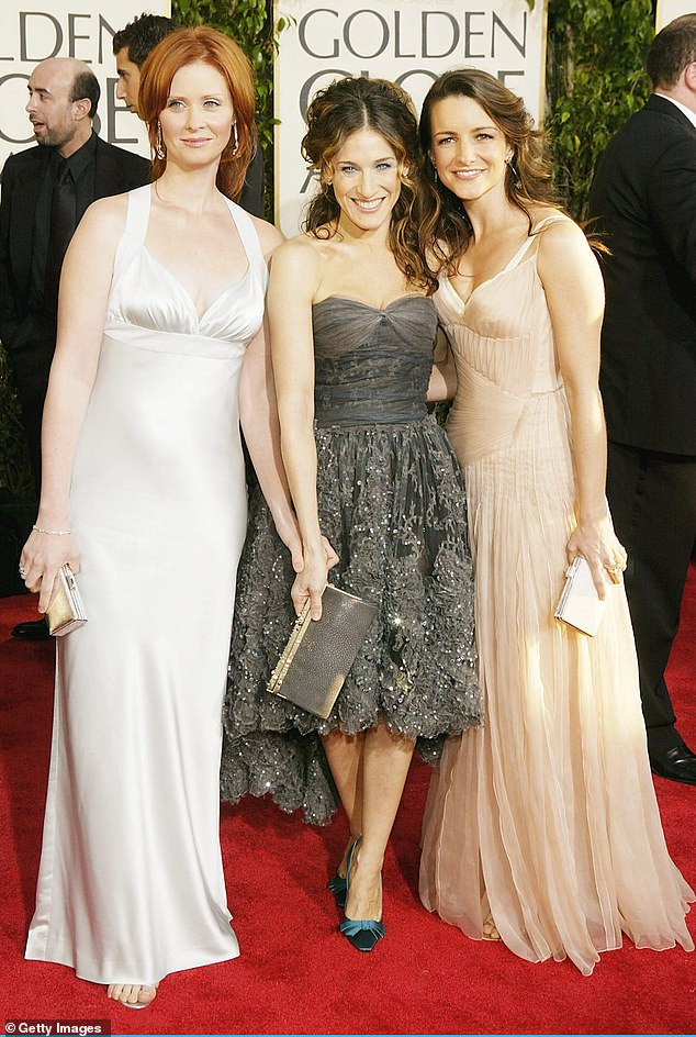 Three's company: Samantha, the character of Cattrall, is not returning for the reboot.  The HBO statement stated that it will `` follow Carrie, Miranda and Charlotte as they navigate the journey from the complicated reality of life and friendship in their thirties to the even more complicated reality of life and friendship in your fifties ''.  Seen in 2004