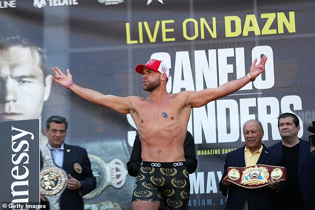 Saunders was unfazed by the hostile reception from Canelo fansat AT&T Stadium in Texas
