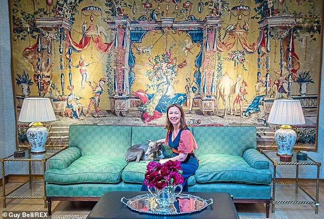 A preview of Lulu Lytle (pictured with her dog Panther) of Soane Britain's collaboration with Christie's Spring edition of The Collector sales