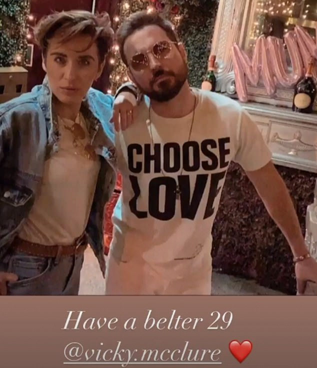 Gotta have Faith in AC-12: Line Of Duty's Martin Compston shared a throwback picture of himself and co-star Vicky McClure dressed as Wham as they celebrated their JOINT birthday on Saturday
