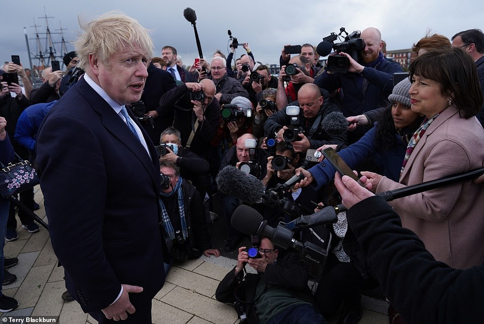 Prime Minister Boris Johnson toasted his party's success in England on Friday, but results in Wales and Scotland have been less promising
