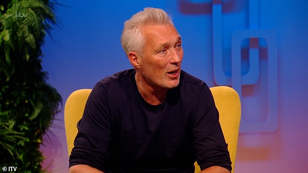 Wow: Martin Kemp has revealed that the late George Michael got him his role as Steve Owen in EastEnders, with the Careless Whisper singer demanding he wear one of his jumpers on the show in return