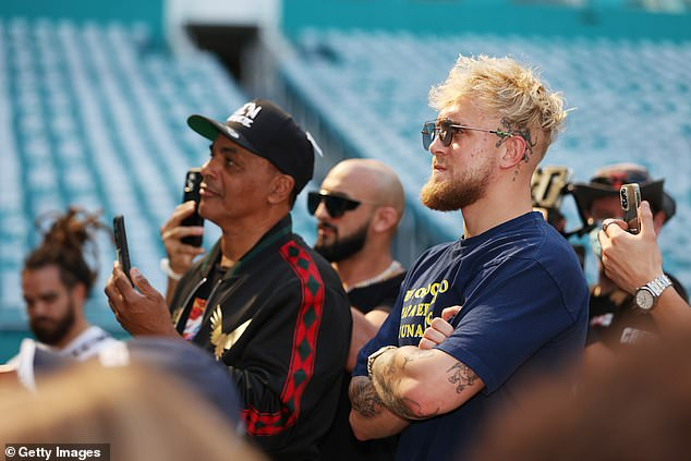 Mayweather could be in line for a future bout with Jake Paul following their recent clash