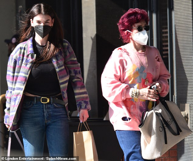 Mother-daughter time: Sharon Osbourne and daughter Aimee have both made headlines recently, but they didn't let any controversy get in the way of their mother-daughter bonding. The reality star, 68, was spotted having lunch with her eldest child, 37, in Beverly Hills