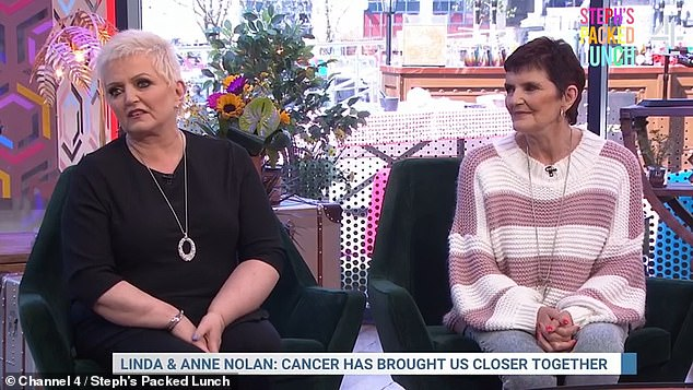 Tragic:Linda heard the news just 30 minutes after her sister Anne, 70, had called her to tell her she had been diagnosed with breast cancer after discovering a lump.
