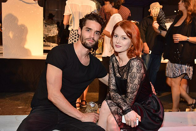 Stars Max Befort and Emily Beecham attending the Frank LA Issue Release Celebration in Los Angeles, California