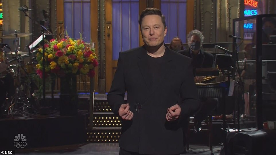 Elon Musk has delivered his monologue on Saturday Night Live, poking fun at his own eccentricities and appearing to confess that he has 'Asperger's'