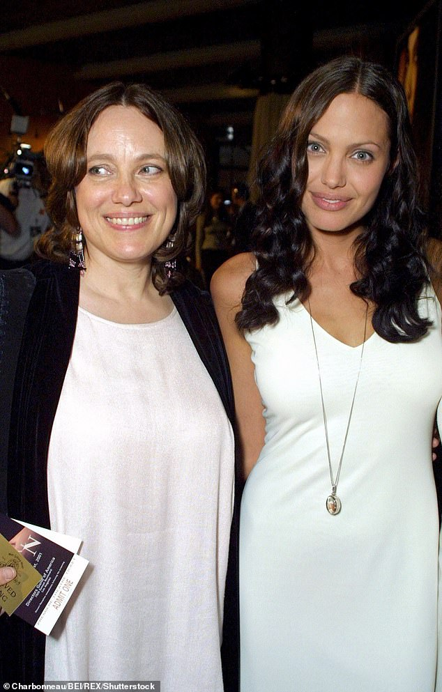 'My mother was very kind': Angelina Joli, 45 (right) candidly shared the lessons she learned from her late mother Marcheline Bertrand (left) during an interview with the Sydney Morning Herald on Sunday .  Photographed together in 2001