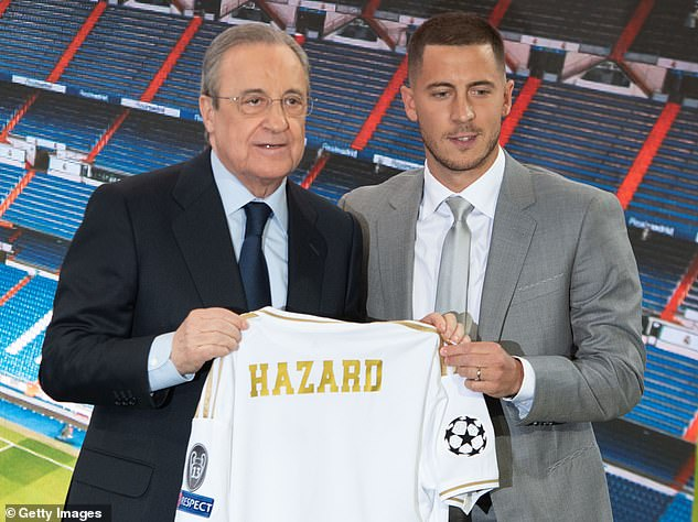 There were high hopes for Hazard when Real signing him from Chelsea back in 2019