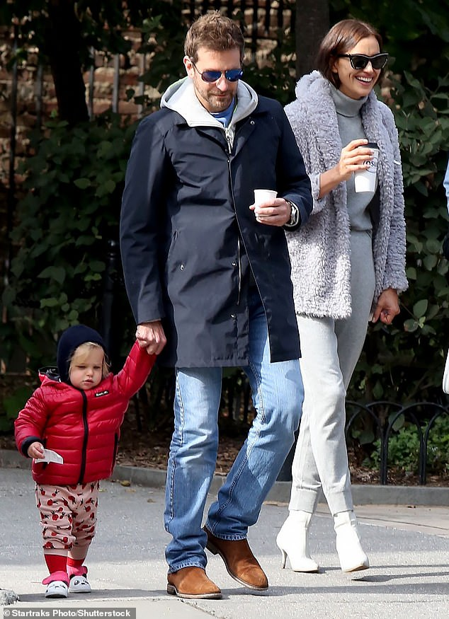 Family first: The duo are seen regularly in New York with their daughter (pictured together in 2018)