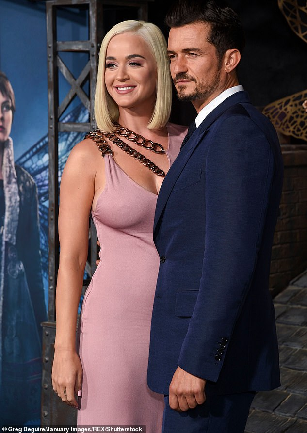 Romance: Pirates of the Caribbean star Orlando proposed to Katy on Valentine's Day 2019