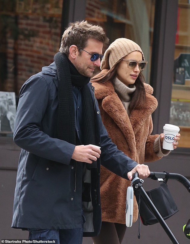 Mom and Dad: Irina shares Lea with ex Bradley Cooper and has maintained a friendly co-parenting relationship with the actor