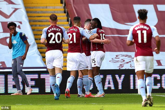 United once again conceded the first goal as Bertrand Traore put Villa ahead in the first half