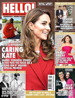 Read the full interview with Sally in Hello! magazine, out now