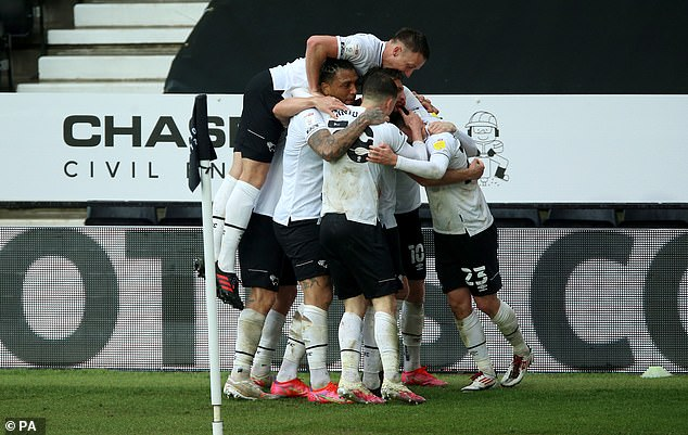 Derby are the teamwho couldn't pay their own players on time in January and February